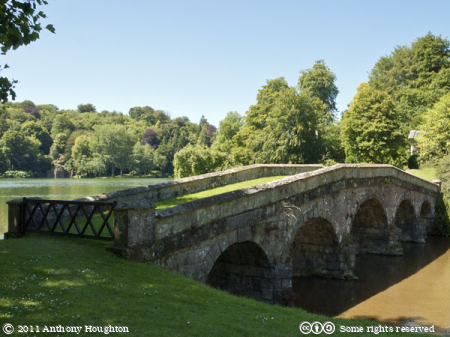 Paladian Bridge,Stourhead