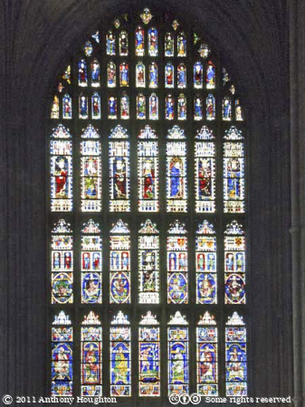 West Window,Canterbury Cathedral,Church