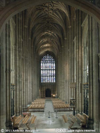Nave,Canterbury Cathedral,Church