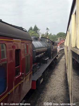 Goathland Station,NYMR,North Yorkshire Moors Railway,Heritage,Train,Steam Engine