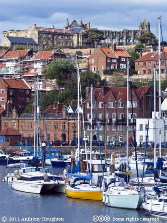 Abbey,Harbour,Whitby,Boats