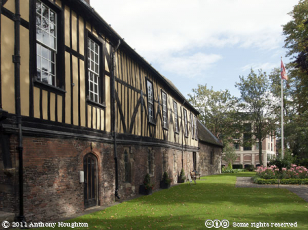 Rest Garden,Merchant Adventurers' Hall,York