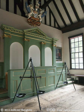 Governors Stall,Merchant Adventurers' Hall,York,Timber Framed