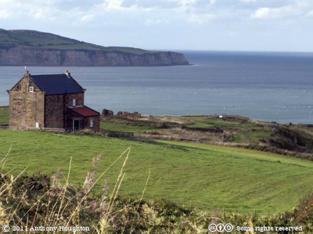 Manager House,Sea,Ravenscar Peak Alum Works