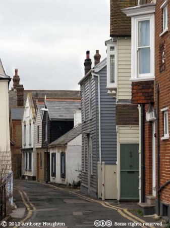 Sea Wall,Whitstable,Houses