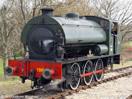 Hunslet,Austerity,0-6-0ST,WD198,Royal Engineer,IoW,Isle of Wight,Steam,Heritage