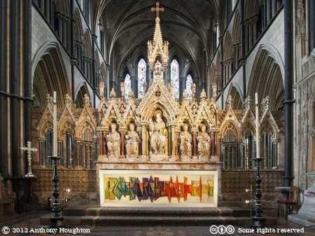 High Altar,Worcester Cathedral