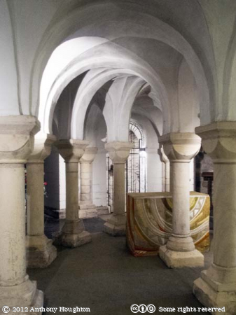 Crypt,Worcester Cathedral