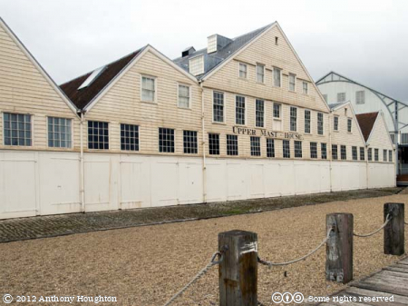 Upper Mast House,Historic Dockyard,Chatham,Building