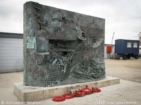 Destroyer,Memorial,Historic Dockyard,Chatham