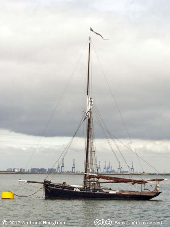 Oyster Yawl,Thistle,F86,Lower Halstow