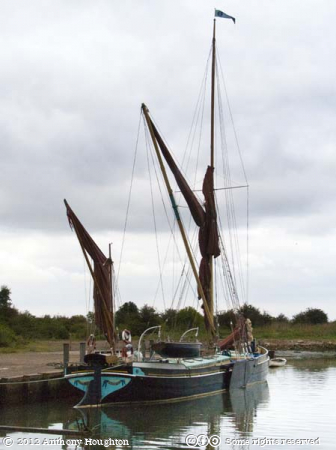 Edith May,Lower Halstow,Thames Barge,Boat