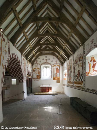 North Aisle,St Teilo's,Church,St Fagans,National History,Museum,Sain Ffagan,Amgueddfa Werin Cymru,Wall Paintings