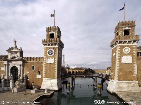 Arsenale,Gates,Venice,Venezia,Towers,Canal