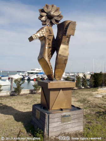 Ginger Rogers,Fred Astaire,Shoes,Sculpture,Treporti,Venice,Lagoon