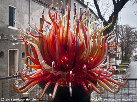 Fire,Glass Sculpture,Bressagio,Murano,Venice,Lagoon