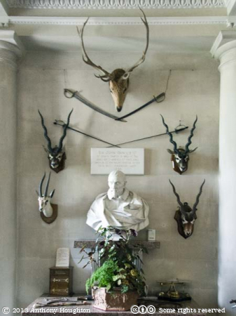 Bust,Entrance Hall,Kingston Lacy,House,Building,Stately Home,Tourist,Visitor,Attraction