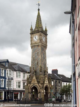 Clock Tower,Machynlleth,Buildings