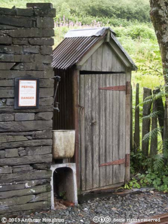 Privy,Corris Railway,Steam,Heritage,Shed