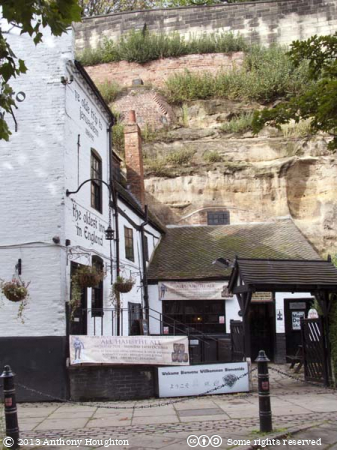 Ye Olde Trip to Jerusalem,Nottingham,Inn,Pub,Public House