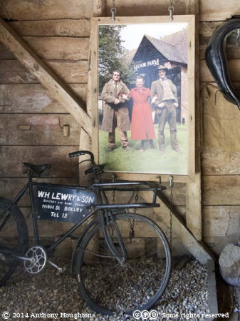 Wartime Farm,Manor Farm,Country Park,Bursledon,Alex Langlands,Peter Ginn,Ruth Goodman,Bicycle,Poster
