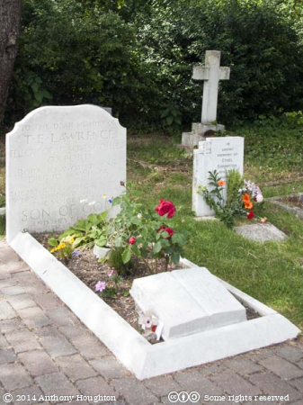 Lawrence of Arabia,Grave,Moreton
