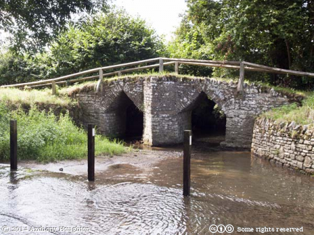 Fifehead Neville,Ford,Packhorse Bridge