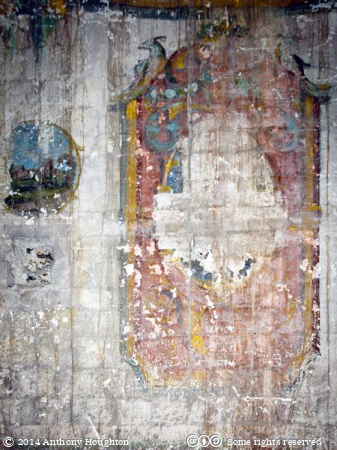 Theatre,Wall Painting,Keep,Porchester Castle