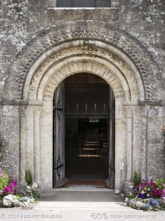 West Door,St Mary's Church,Porchester Castle