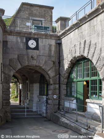 Entrance,Nothe Fort,Weymouth