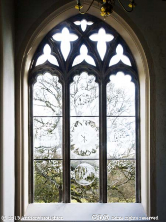 Seasons Window,St Nicholas Church,Moreton,Laurence Whistler