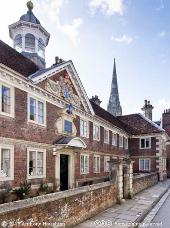 College of Matrons Almshouse,Salisbury,Houses