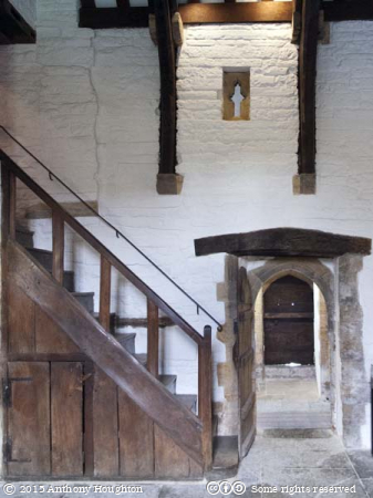 West Kitchen,Abbot's Lodging,Muchelney Abbey,Ruin,English Heritage,Langport