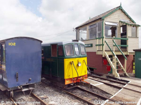 No 1,Amanda,Common Lane,Gartell Light Railway,Diesel Engine,Narrow Guage