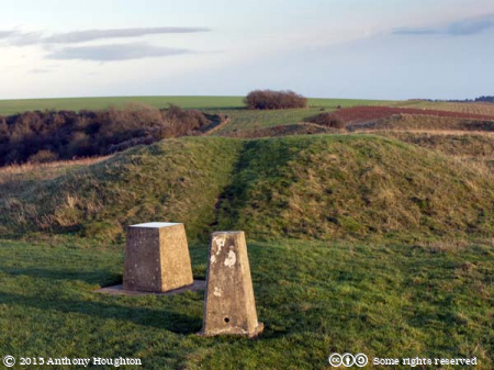Bronze Age Barrows,Trig Point,Triangulation Station,Old Winchester Hill