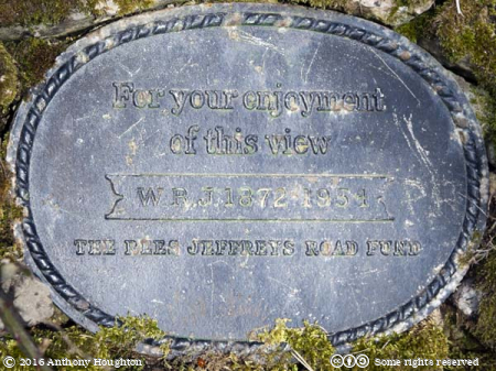 Rees Jefferys Road Fund,Plaque,Old Winchester Hill