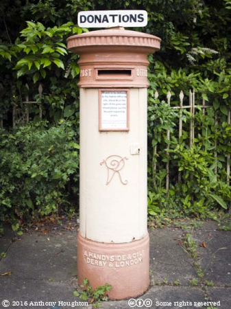 Postbox,Toddington,Gloucestershire Warwickshire Railway