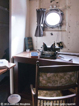 Captain's Office,HMS M.33,Portsmouth Historic Dockyard
