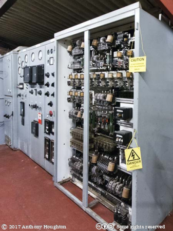 Control Cabinets,Pocket Power Station,Internal Fire,Museum of Power