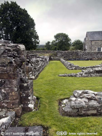 North Aisle,Strata Florida Abbey