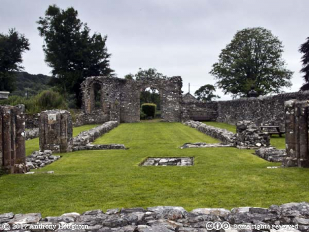 Crossing,Nave,Strata Florida Abbey