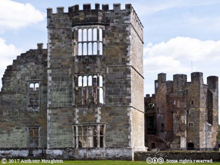South West Tower,Cowdray Castle,Midhurst