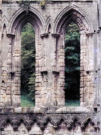 Fountains Abbey,Church,Lancet Windows
