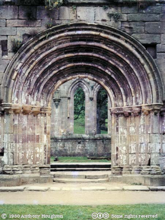 Fountains Abbey,Church,Doorway