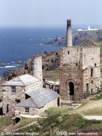 St Just,Botallack,Levant Mine,Stationary,Steam,Beam Engine