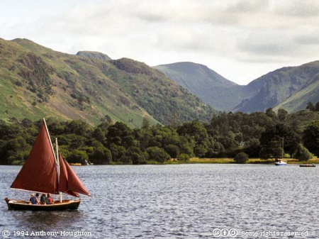 Ullswater,Lake,Mountains,Sailing Dinghy,Boats