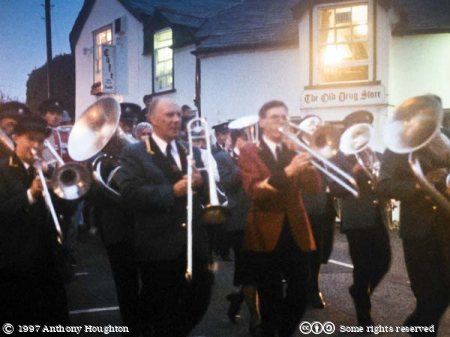 Port Isaac,Musicians,Parade,Procession,Furry Dance