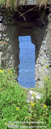 Ballinskelligs Castle,Window