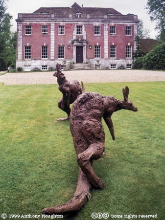 Wimborne,Deans Court,Dean's Court,Stately Home,House,Sculptures,Kangaroos