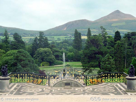 Powerscourt,Garden,Italianate